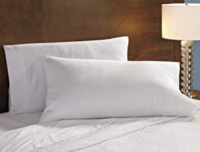 Fairfield Signature Pillowcases - Soft 300 Thread Count Cotton Blend Pillowcases Exclusively for Fairfield by Marriott - White - Set of 2 - Queen