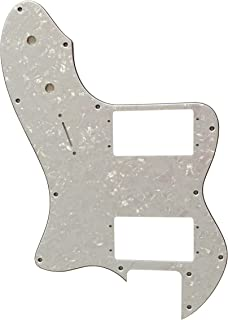 For Fender Classic Series '72 Thinline Tele Guitar Pickguard (4 Ply White Pearl)