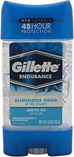 Gillette Anti-perspirant/deodorant Clear Gel, Arctic Ice, 4 Ounce Stick (Pack Of 3) (packaging may vary)