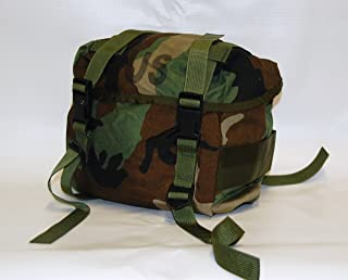 US Military Buttpack Butt Pack Woodland ALICE MOLLE- Real US Military Made in USA NSN: 8465-00-935-6825