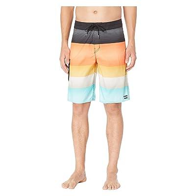 Billabong All Day OG Stripe Boardshorts (Lava) Men