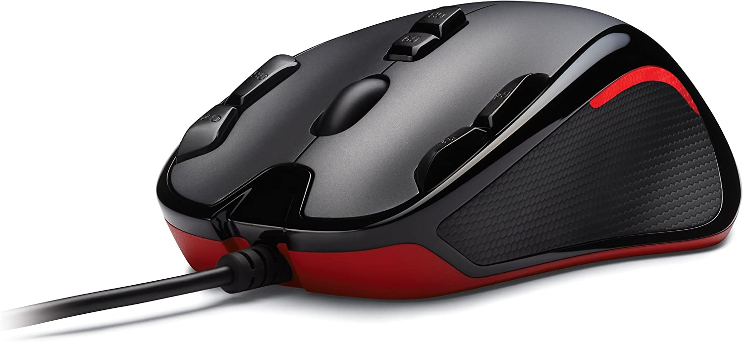 Logitech Gaming Mouse G300 with Nine Programmable Controls (910-002358)