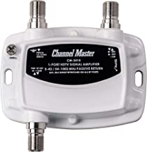 Channel Master Ultra Mini TV Antenna Amplifier, TV Antenna Signal Booster for Improving..