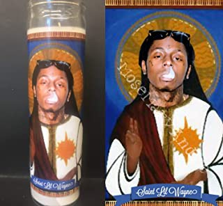 Mose Mary and Me Lil Wayne Devotional Prayer Saint Candle