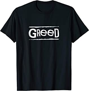 Seven Deadly Sins Greed Group Halloween T-Shirt