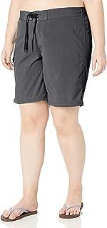 Women's Plus-Size Marina Solid Stretch Boardshort