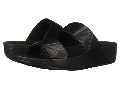 FitFlop Mina Slide (All Black) Women