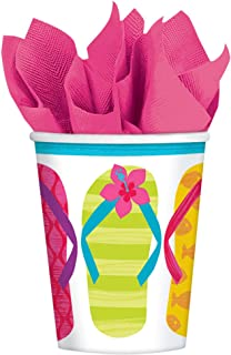 AmscanFlip Side Party Cups, 9 oz., 50 Ct.
