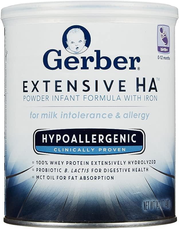 Gerber Baby Formula Extensive HA Powder Powder 14 1 Oz 6 Pk