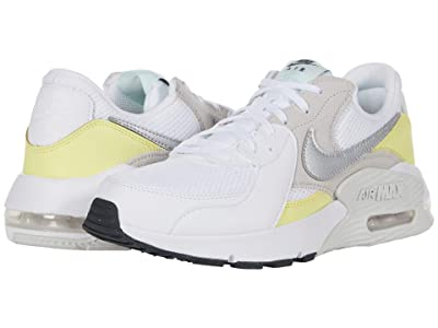Nike Air Max Excee (White/Metallic Platinum/Light Zitron) Women