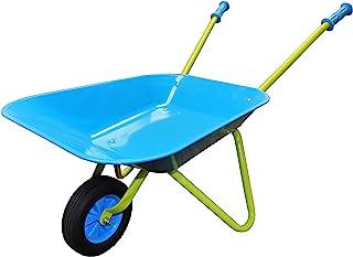 G & F Products G & F 10041 JustForKids Kids Wheel Barrel made of real metal kids size