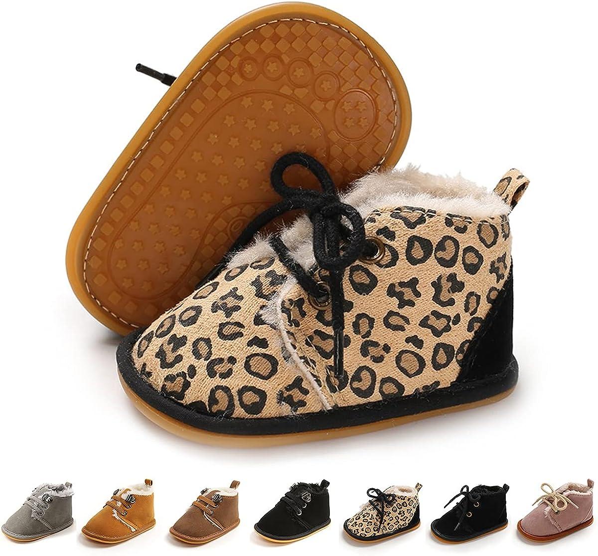 TAREYKA Baby Free shipping on posting reviews Booties Infant Girls Winter San Jose Mall Newborn Shoes Boys