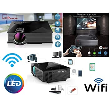 Proyector LED Wifi Android LCD videoproiettore3d 1080P HD HDMI USB ...