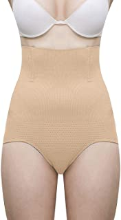 Glamroot Women's Shapewear, High Waist Tummy Control Panty