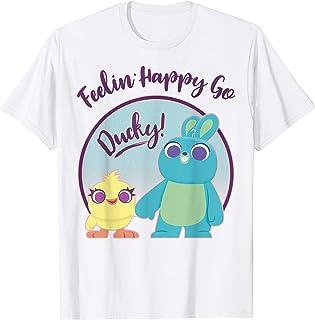 Disney Pixar Ducky and Bunny Feeling Happy Go Ducky T-Shirt