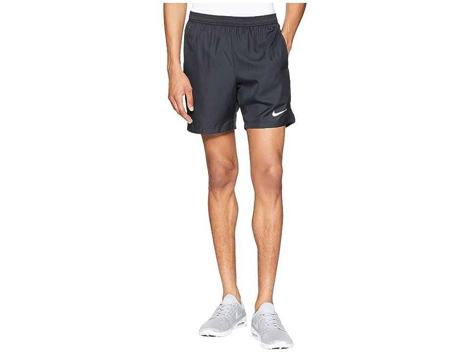 Nike Court Dry 7 Tennis Short (Black/Black/White) Men
