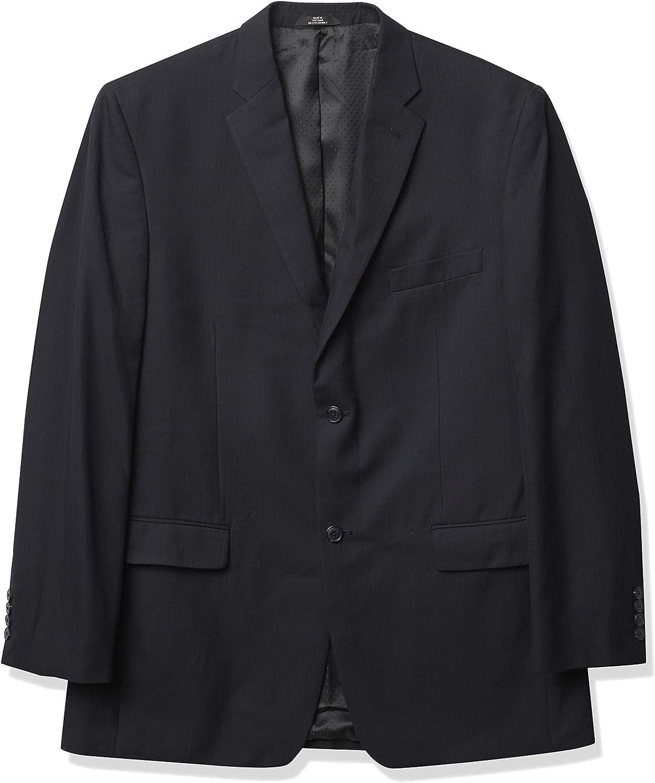 Haggar Men's Big & Tall Herringbone Two-Button Suit Separate Coat