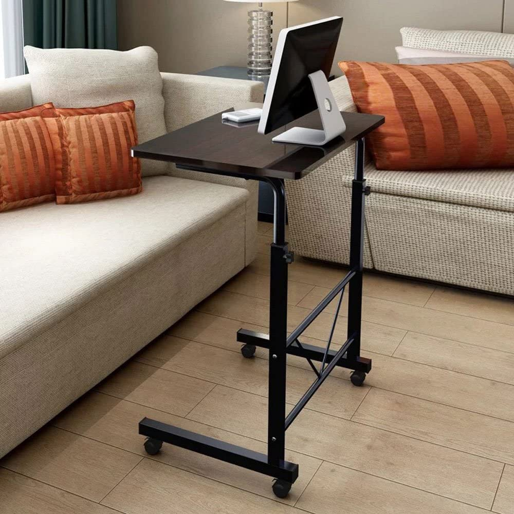 Henf Selling and selling Sofa Side Table supreme with Wheels A Removable Desk Height Small