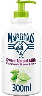 LE PETIT MARSEILLAIS Liquid Soap, Sweet Almond Milk, Extra Gentle Hand Mousse Cream, 300ml