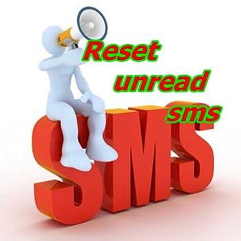 reset unread sms