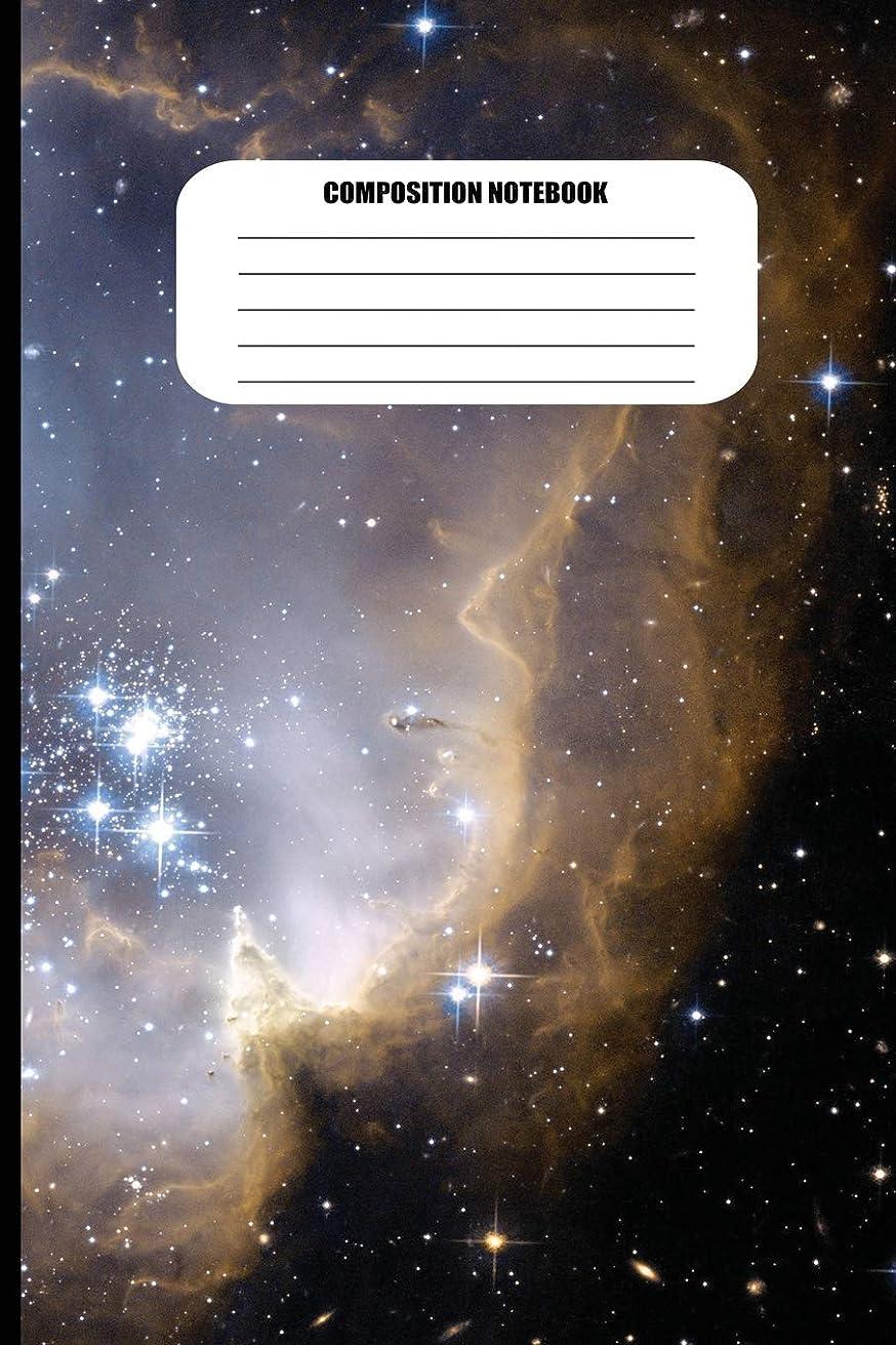 であることナイロン柔らかい足Composition Notebook: Stars, Galaxies and Nebulae (100 Pages, College Ruled)