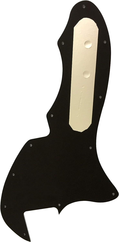 3 Ply Black For US Fender Telecaster 69 Thinline Blank No Pickup Guitar Pickguard
