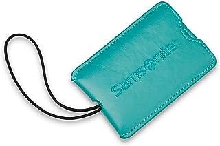 Samsonite 2-Pack Vinyl Id Tags, Emerald Teal (Green) - 43672-4127