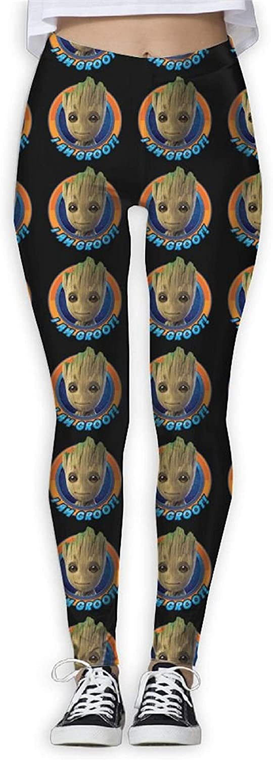 I Am Groot 1 Year-end annual account Women Yoga Variet a Pants Tight Exercise Max 50% OFF
