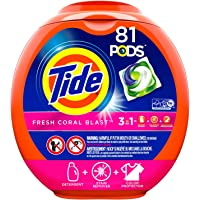 Tide 72 Ct Fresh Coral Blast HE Capsules Laundry Detergent Deals