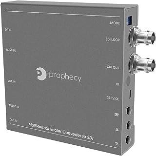 gofanco Prophecy Multi Video Format to SDI Scaler Converter – Input HDMI/Mini DisplayPort/VGA, SDI Output up to 3G/HD/SD-S...