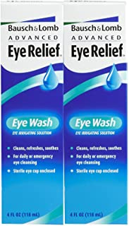 Bausch & Lomb Advanced Eye Relief Eye Wash-4 oz, 2 pack