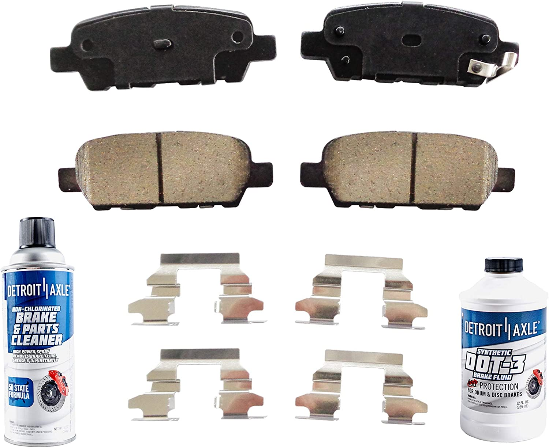 Detroit Axle 激安価格と即納で通信販売 信用 - REAR Brake Pads Fluid Kit G37 Ni for G35 Infiniti