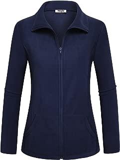 Women's Outdoor Full-Zip Thermal Fleece Jacket with Pockets