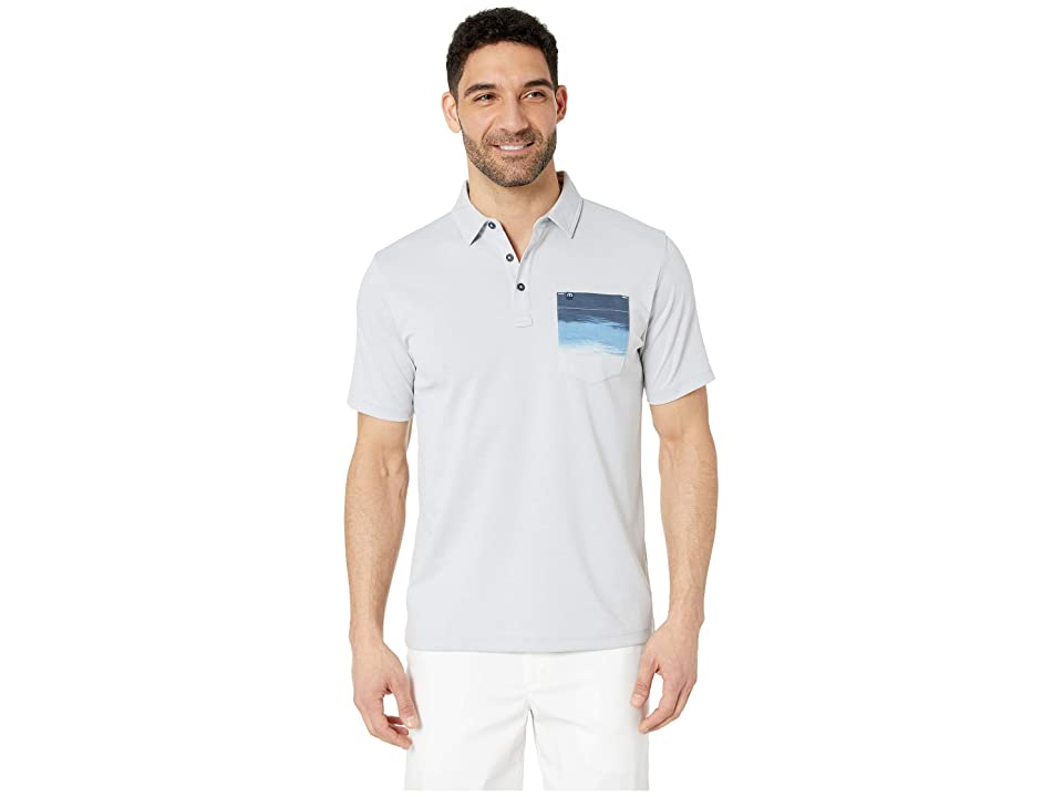 Image of TravisMathew Just A Blur Polo (Micro Chip) Men's Clothing