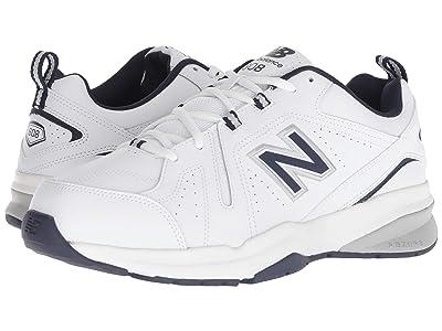 New Balance 608v5 (White/Navy) Men