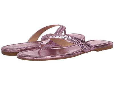 Jack Rogers Metallic Collins Flip-Flop (Light Pink) Women