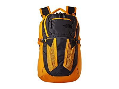 The North Face Recon (Asphalt Grey/Zinnia Orange) Backpack Bags
