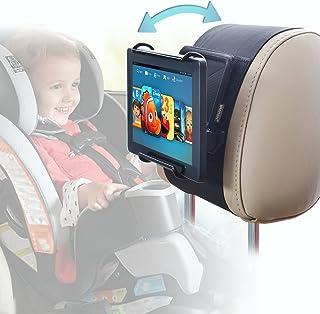 Car Headrest Holder WANPOOL Angle Adjustable Car Headrest Mount Holder for 7 -10 Inch Fire Tablets