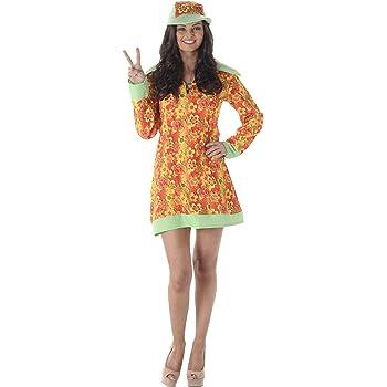 Karnival Costumes - Disfraz de Hippie para Mujer: Amazon.es ...