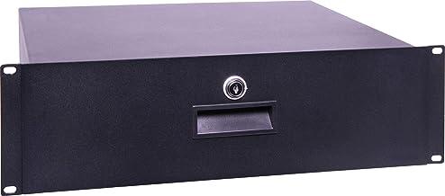 """Generic 2U 350mm Deep 19"""" Lockable Rack Drawer"""