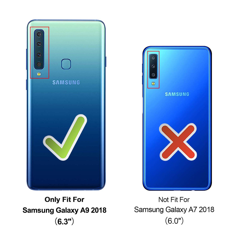 HOOMIL Transparente Silicona Funda para Samsung Galaxy A9 2018 ...