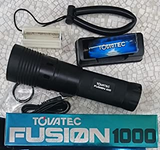 防水フュージョン ビデオ フラッシュライト1000ルーメン [並行輸入品]