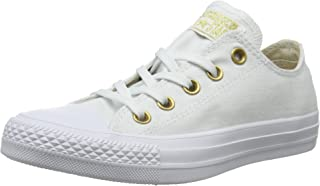 Converse Women's CTAS Ox Trainers, White/Driftwood/White