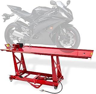 Motorradhebebühne 450kg Pneumatisch