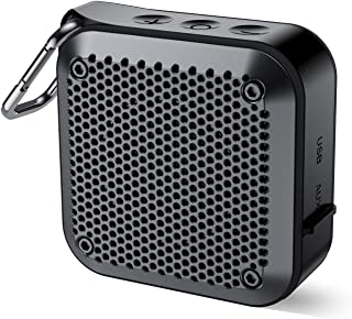 Extra Portable Bluetooth Speaker - IPX7 Waterproof Wireless Portable Outdoor Bluetooth Speakers, Small Speaker Loud Volume, with Mic, 12H Playtime, AUX/TF Card Play, for Shower Pool Beach Travel