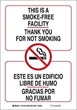 Brady 124138 Bilingual Sign, Legend