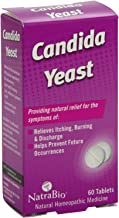 Natra Bio Candida Yeast Relief Tablet - 60 per pack - 2 packs per case.