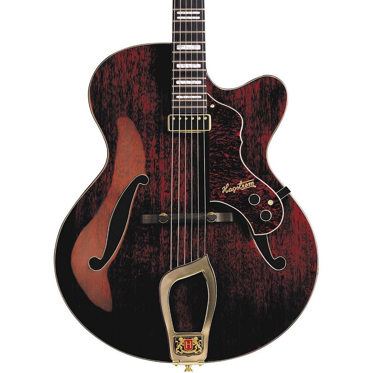 Cheap Hagstrom Jazz Model Hl-550 Hollowbody Electric Guitar Gloss Natural Mahogany Black Friday & Cyber Monday 2019