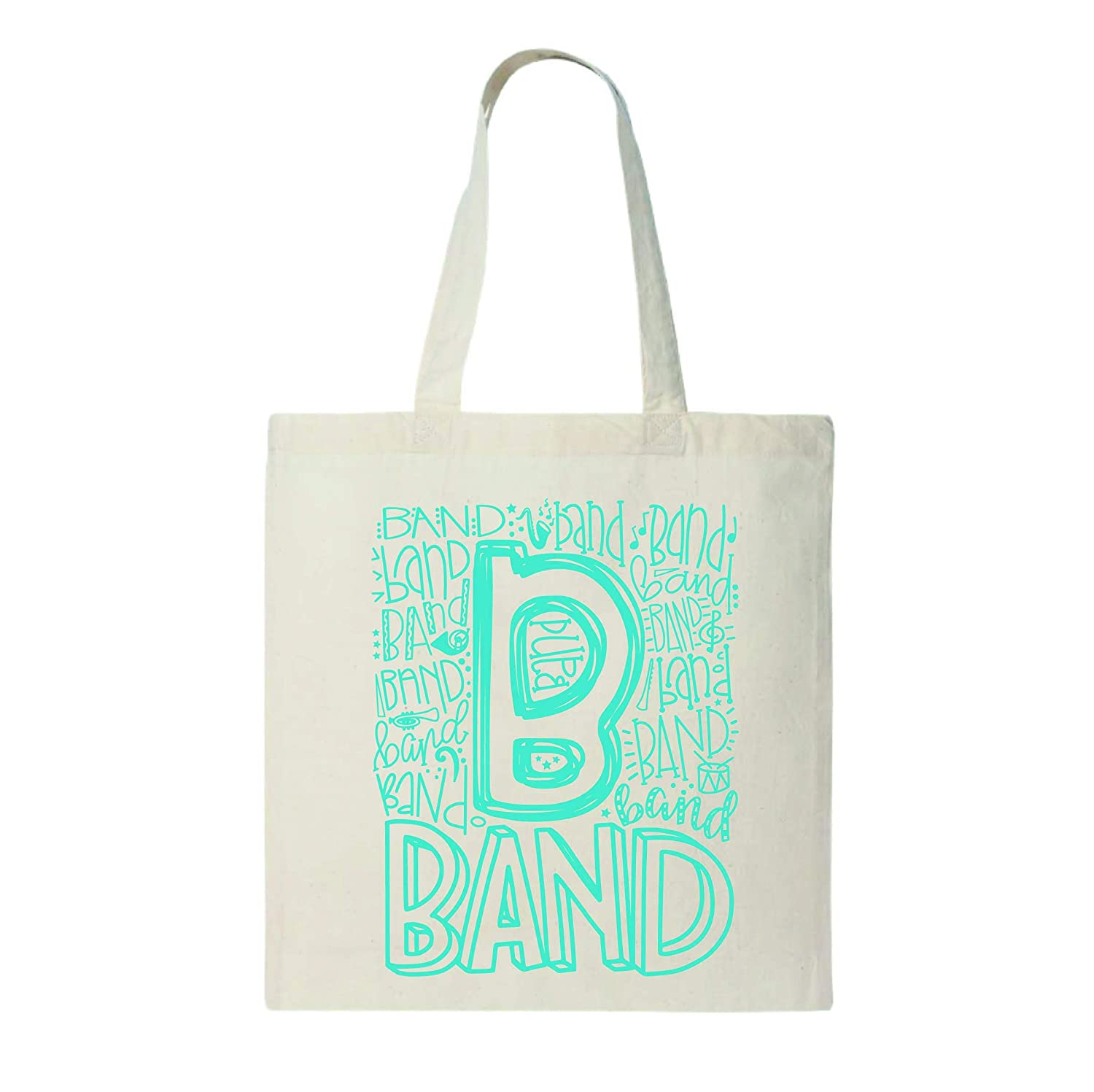 Tulsa Mall Band Typography Soldering Student Tote - 6 Weight Light Natural oz Canvas