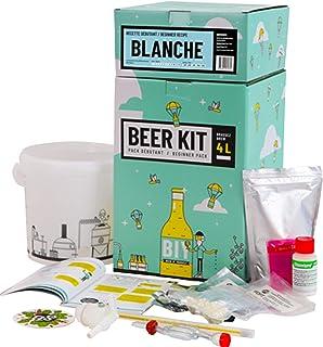 Saveur Bière - Kit de Brassage Débutant, Je Brasse ma bière Maison - 4L de bière - Idée Cadeau 100% découverte (Bière Blan...